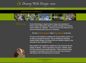 Druery Web Design 2007-2011