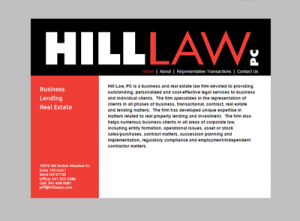 Hill Law
